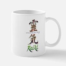 Reiki Healing hands chinese letters Mug