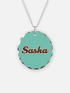 Sasha Aqua Necklace