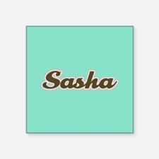 Sasha Aqua Sticker
