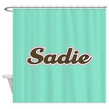 Sadie Aqua Shower Curtain