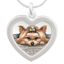ByCatiaCho My Blessings Silver Heart Necklace