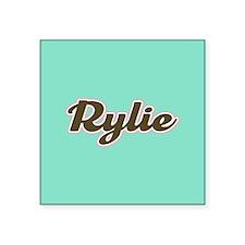 Rylie Aqua Sticker