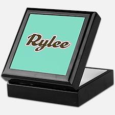Rylee Aqua Keepsake Box