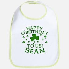 Personalized for Sean Bib