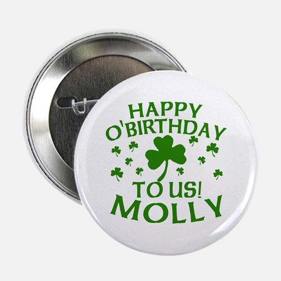 """Personalized for Molly 2.25"""" Button"""