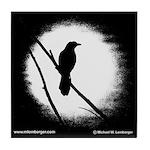 Bird on Branch Tile Coaster