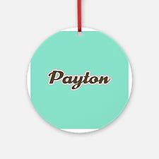 Payton Aqua Ornament (Round)