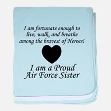 AF Sister Fortunate baby blanket