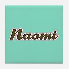 Naomi Aqua Tile Coaster