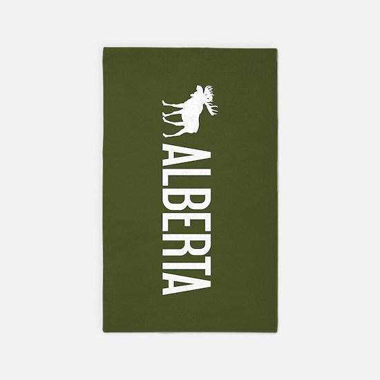 Alberta Moose Area Rug