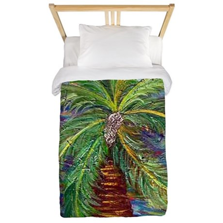 Funcky Palm Tree Twin Duvet