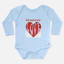 Grandma's Love Long Sleeve Infant Bodysuit