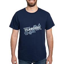 Platonic Love Since 74 Faded T-Shirt