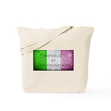 Republic of Newfoundland Flag Tote Bag
