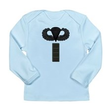 CW4 - Pin-On - Airborne Long Sleeve Infant T-Shirt
