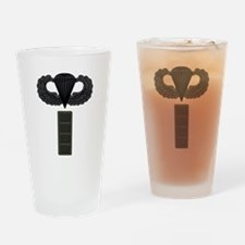 CW4 - Pin-On - Airborne Drinking Glass