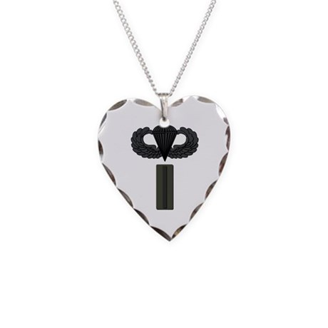 CW5 - Pin-On - Airborne Necklace Heart Charm