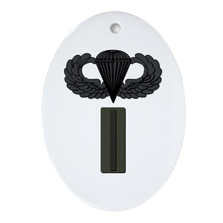 CW5 - Pin-On - Airborne Ornament (Oval)