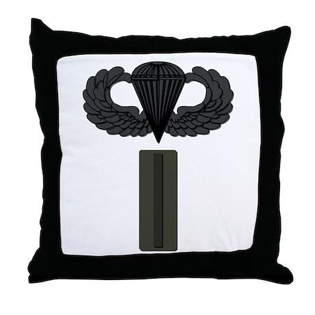CW5 - Pin-On - Airborne Throw Pillow
