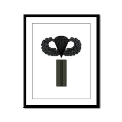 CW5 - Pin-On - Airborne Framed Panel Print