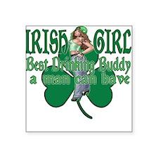 Irish Drinking Buddy Sticker