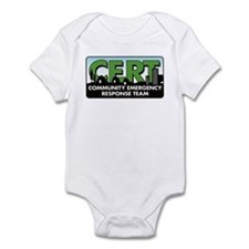 Community Emergency Response  Infant Bodysuit
