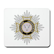White Falcon Star Mousepad