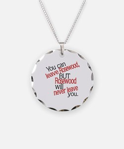 Rosewood Never Leaves You Necklace