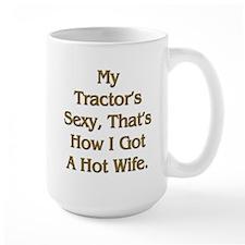 Sexy Tractor Hot Wife Mug