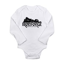 City of Ironforge Silhouette Long Sleeve Infant Bo