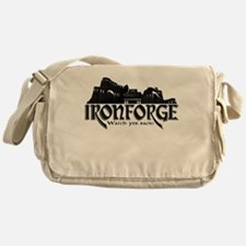 City of Ironforge Silhouette Messenger Bag