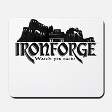 City of Ironforge Silhouette Mousepad