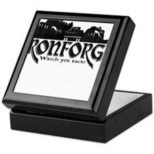 City of Ironforge Silhouette Keepsake Box