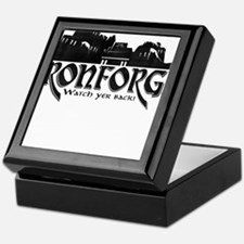 City of Ironforge Silhouette Keepsake Box