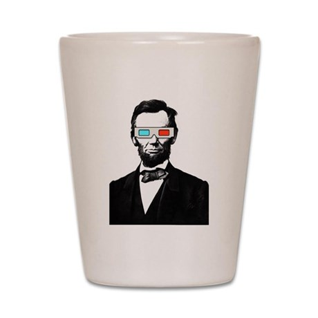 3D ABRAHAM LINCOLN Shot Glass