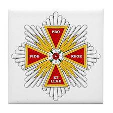 White Eagle (Poland Tile Coaster