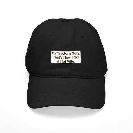 Sexy Tractor Hot Wife Black Cap