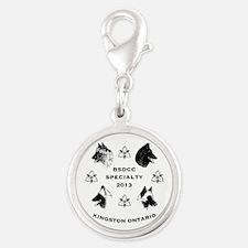specialty logo Silver Round Charm