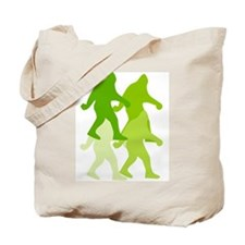 Mossy Bigfoot Tote Bag