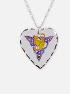 Celtic Cat Necklace