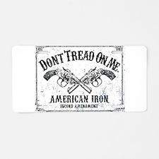 DONT TREAD ON ME GUNS Aluminum License Plate