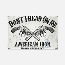 DONT TREAD ON ME GUNS Rectangle Magnet (10 pack)