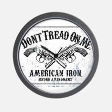 DONT TREAD ON ME GUNS Wall Clock