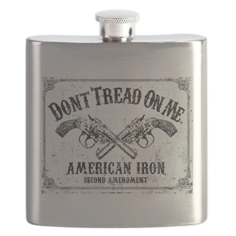 DONT TREAD ON ME GUNS Flask