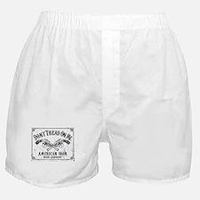 DONT TREAD ON ME GUNS Boxer Shorts