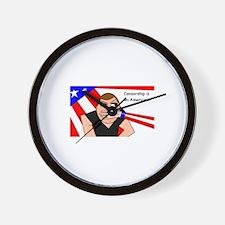 Civil Liberties Wall Clock