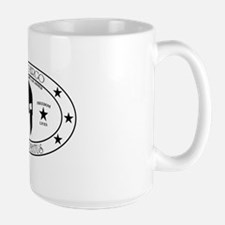 Armed Thinker Large Mug