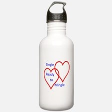 Single ready to mingle Water Bottle