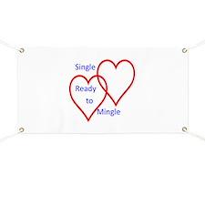 Single ready to mingle Banner