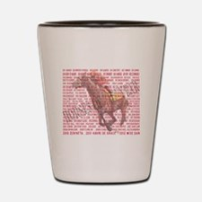 Horses of the Year 1887-2012 Shot Glass
